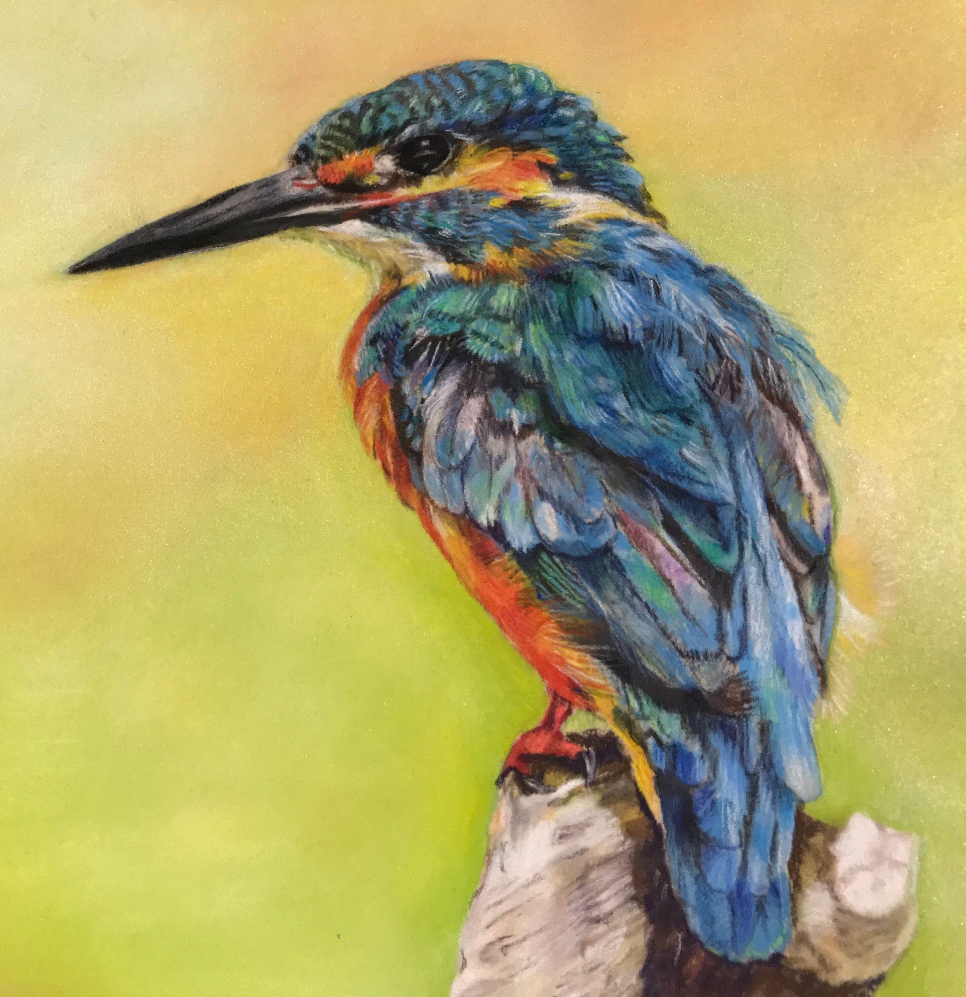 kingfisher_painting