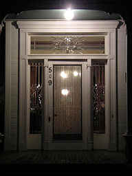 CPH Night Time Front Door 11 2 07