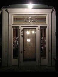 CPH Night Time Front Door 11 2 07