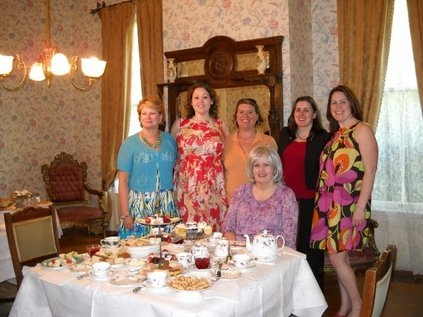 Wedding shower group photo