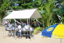 09 Steel Band on Mullins Beach