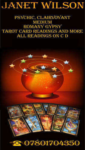 Tarot Card Reading and More with Psychic, Clairvoyant Janet