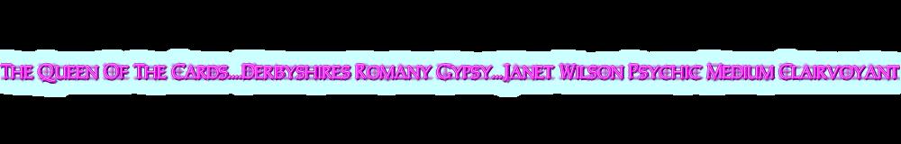 Derbyshires Romany Gypsy. Psychic. Medium. Clairvoyant, site logo.