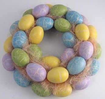 Pastel Egg Wreath