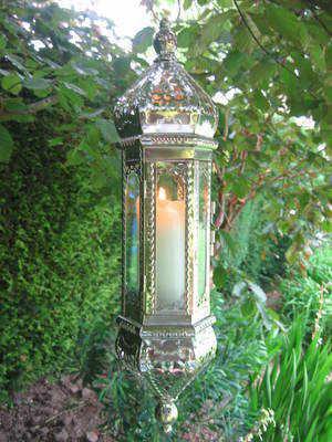 Large, Moroccan Style Medina Lantern