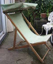 Deckchair with Canopy 1