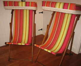 Deckchairs with Canopy 2