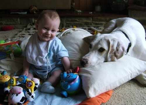 jack and his baby.