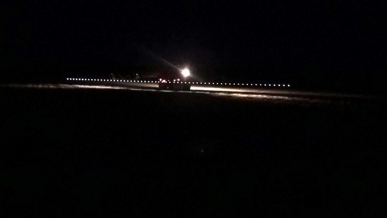 Amazone Spraying in darkness