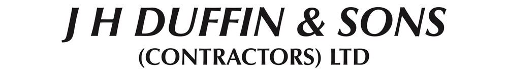 Duffin Contractors, site logo.