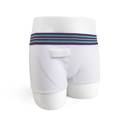 3. GIRLS WHITE HIPSTER spare / replacement underwear for Rodger Wireless Alarm System