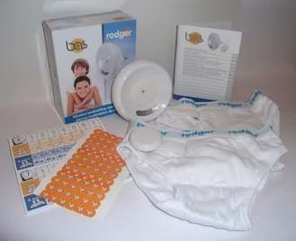 Rodger Wireless Bedwetting alarm White Set