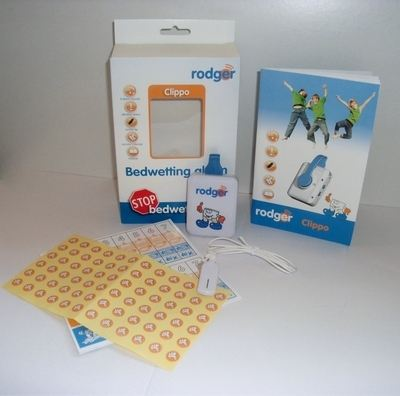 a) Rodger CLIPPO Alarm System - Standard Set for use with OWN underwear