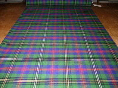 Lightweight Clan Tartan sample 'squares'