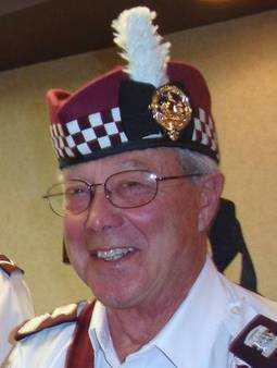 Drum Major Robert Sorensen