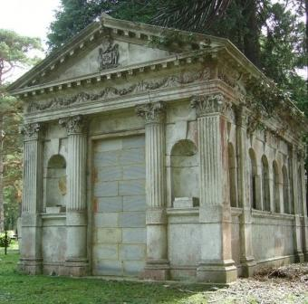 Wood Mausoleum