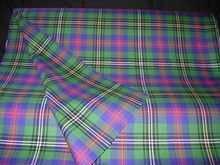 Lightweight Clan Tartan Cloth  - double width (price per metre)