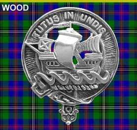 Clan Wood Crest Badge