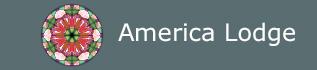 America Lodge, site logo.