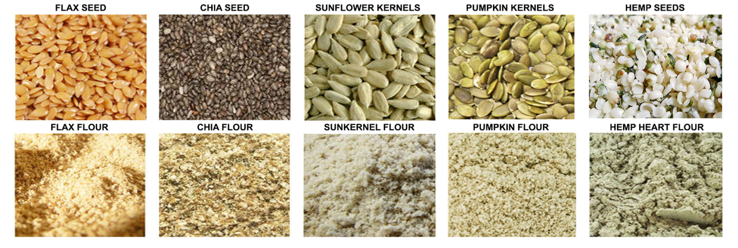 Seed To Flour Image