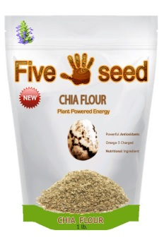 Five Seed Chia Flour Graphic