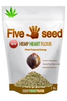 Five Seed Hemp Heart Flour Graphic
