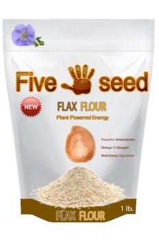 Five Seed Flax Flour Graphic