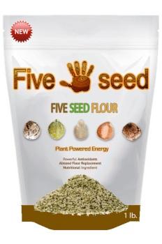 Five Seed Flour - Gluten Free - Allergen Free Baking