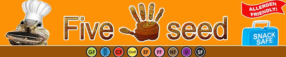 www.fiveseedfoods.com, site logo.