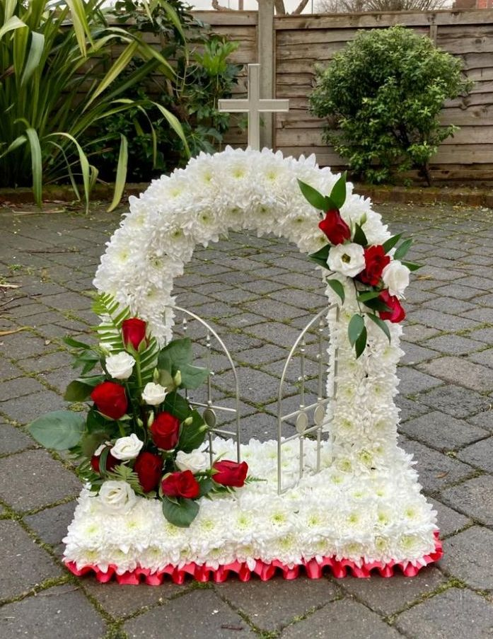 <!--002-->FUNERAL Flowers, Coffin, Wreath, Letters