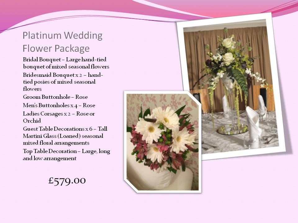 Willow House Flowers Wedding Packages page 5