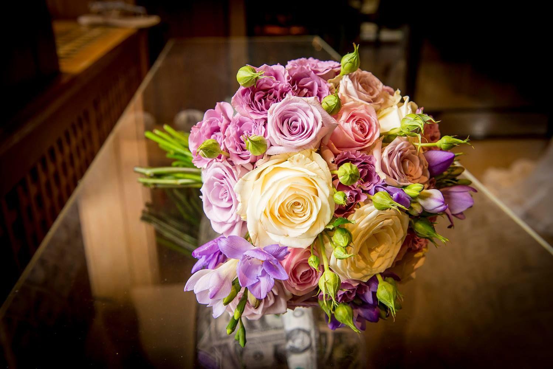 Wedding venue the dairy waddesdon manor bride bouquet 1
