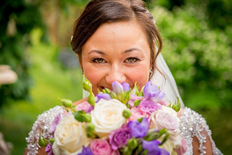 Wedding venue the dairy waddesdon manor bride bouquet