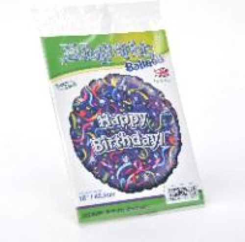 Foil, Helium filled Balloon, HAPPY BIRTHDAY - £5.00