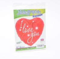 Foil Helium Balloon, I love you - Valentine's, Anniversary, Birthday - £5.00