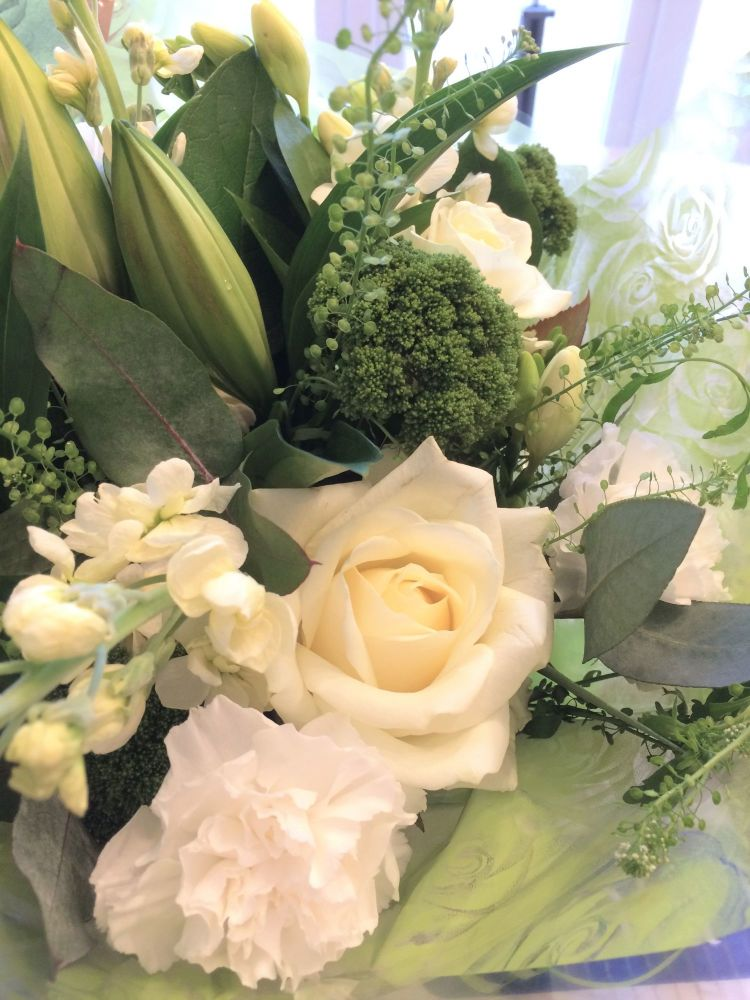 6. Luxury Traditional Sympathy Bouquet - from £24.99