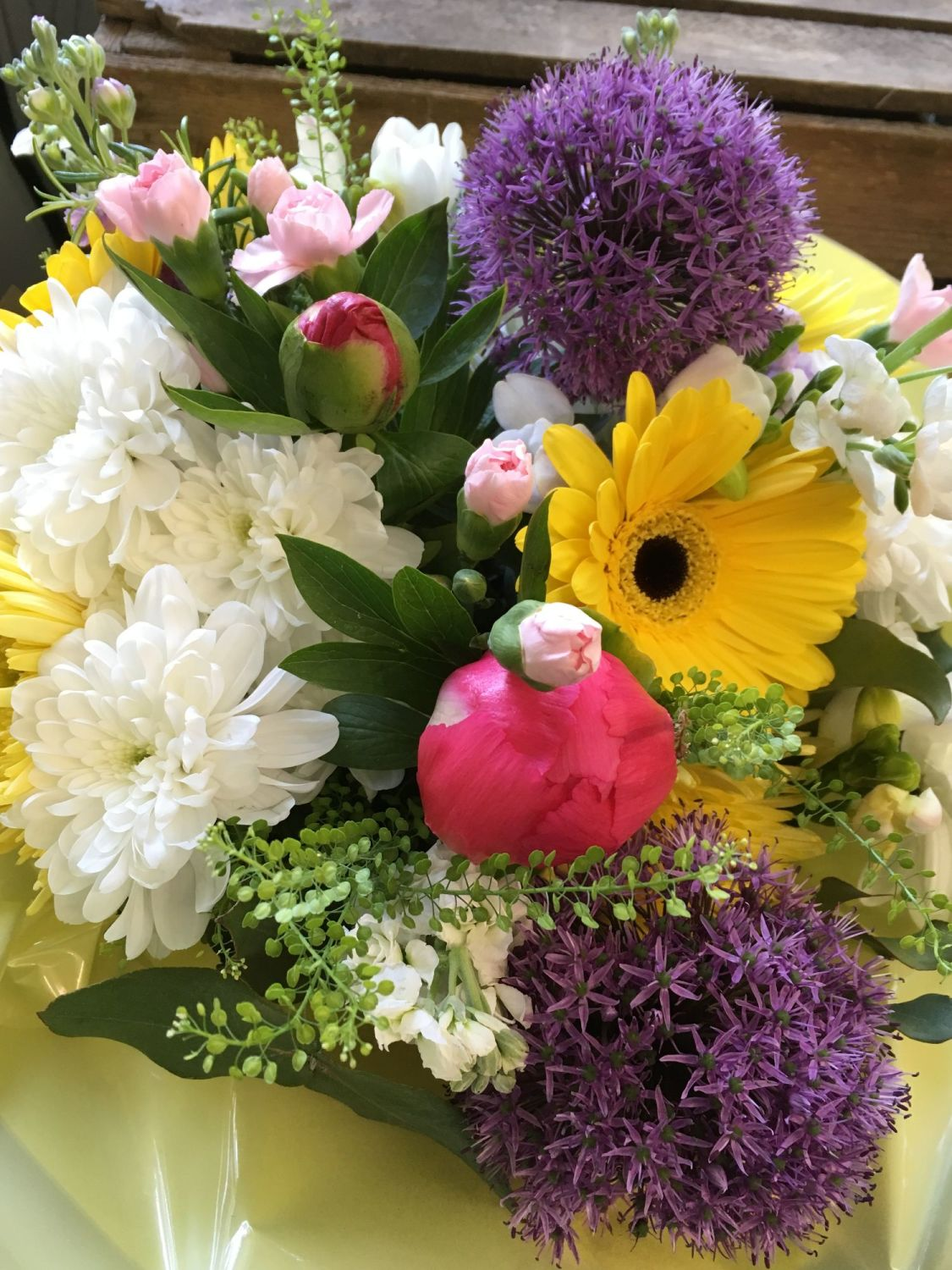 Sensory Fresh Flower Bouquets For The Visually Impaired