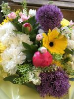 1. Sensory Fresh Flower Bouquets - a very special scented and textured bouquet for the visually impaired