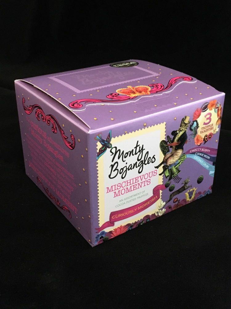 Monty Bojangles - Mischievous Moments - Luxury cocoa dusted truffles