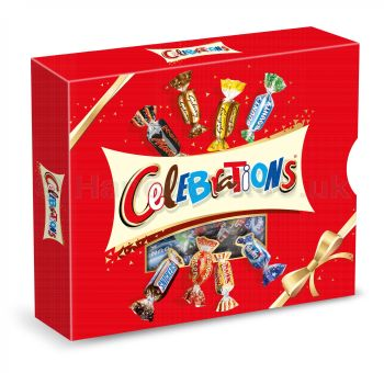Celebrations chocolate gift box - 320g
