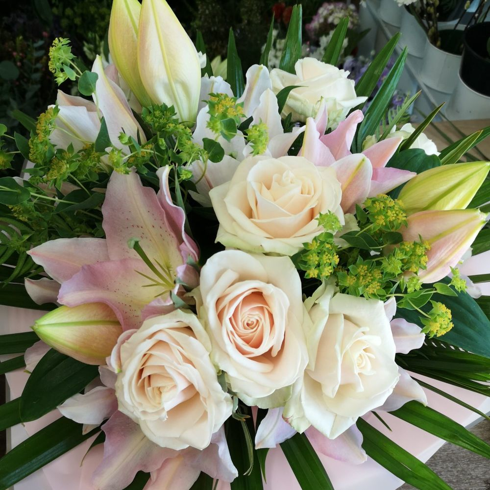 Luxury - hand-tied sympathy bouquets - Free same day local delivery - from