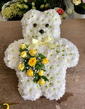Child / Baby funeral tribute - Teddy Bear