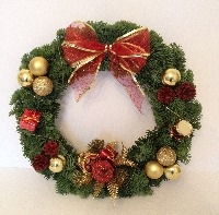 Fresh Christmas Wreath available from 1st December