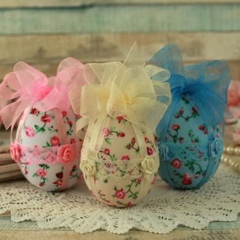 Shabby Chic Easter Egg Tree Decorations