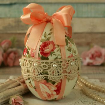Fabric Easter Egg Decoration
