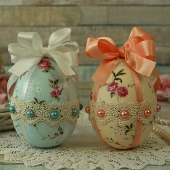 Shabby Chic Easter Tree Decorations