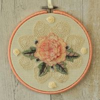 <!-- 010 -->Cottage Decor: Fabric Wall Art