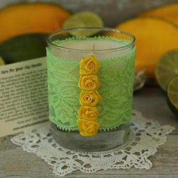 Hand Poured Candle: Thank You Candle Gift