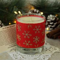 <!-- 001 -->Christmas Candle Gift: Scented Soy Candle