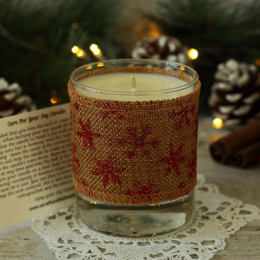 <!-- 002 -->Christmas Scented Candle: Handmade Candle